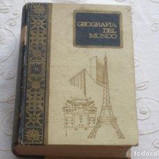 Libros antiguos: ANTIGUA GEOGRAFÍA DEL MUNDO.EDITADA EN 1968. Lote 173203470
