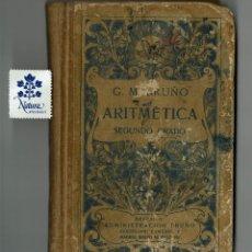 Libros antiguos: ARITMÉTICA SEGUNDO GRADO / CURSO MEDIO / BRUÑO . Lote 174190200