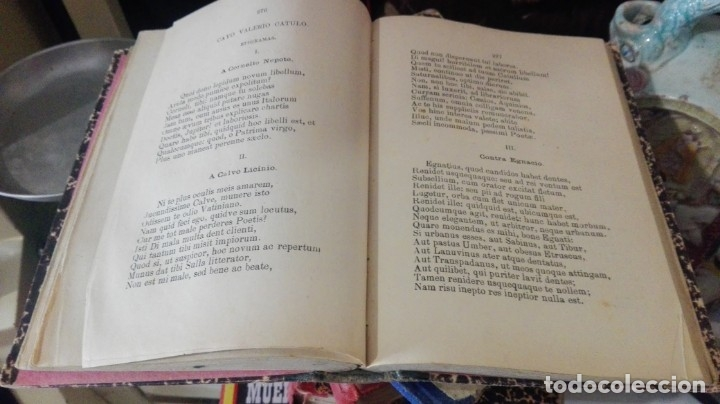 Libros antiguos: COLECCION DE TROZOS ESCOGIDOS DE LOS AUTORES CLASICOS LATINOS PARA USO DE LOS ALUMNOS DE SEGUNDA EN - Foto 3 - 174884569