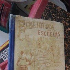 Libros antiguos: UNICO BIBLIOTECA DE LAS ESCUELAS SATURNINO CALLEJA YNDUSTRIA COMERCIO Y CARRERAS DE ESPAÑA. Lote 174886664