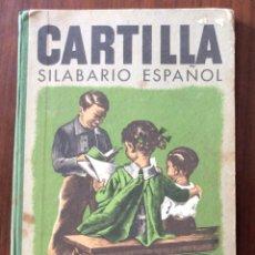 Livros antigos: LIBRO COLEGIO. CARTILLA SILABARIO ESPAÑOL. SEIX BARRAL 1945. BARCELONA. ILUSTRADOR M. LLIMONA.. Lote 175025349