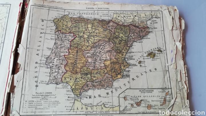 Libros antiguos: Atlas Geográfico Universal Don José Reinoso 1940 - Foto 7 - 175701828