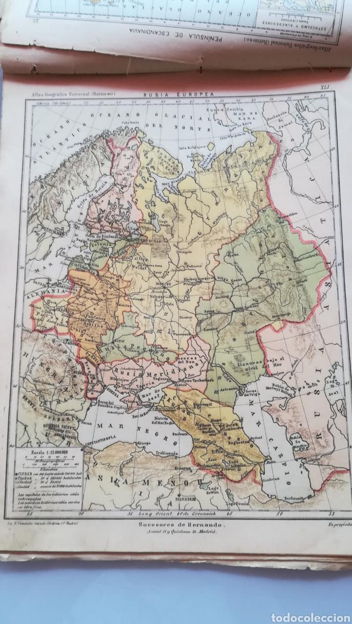 Libros antiguos: Atlas Geográfico Universal Don José Reinoso 1940 - Foto 9 - 175701828