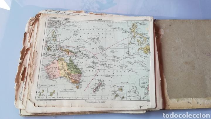 Libros antiguos: Atlas Geográfico Universal Don José Reinoso 1940 - Foto 10 - 175701828