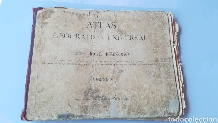 ATLAS GEOGRÁFICO UNIVERSAL DON JOSÉ REINOSO 1940 (Libros Antiguos, Raros y Curiosos - Libros de Texto y Escuela)