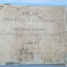 Libros antiguos: ATLAS GEOGRÁFICO UNIVERSAL DON JOSÉ REINOSO 1940. Lote 175701828