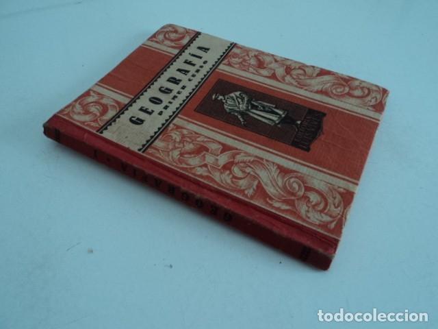 Libros antiguos: LIBRO ANTIGUO ESTUDIO ESCOLAR GEOGRAFIA PRIMER CURSO EDITORIAL LUIS VIVES ZARAGOZA - Foto 2 - 175978813