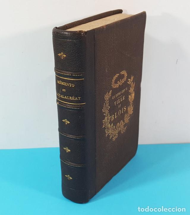 MEMENTO DE BACCALAUREAT ES LETTRES RESUME DES CONNAISSANCES, HACHETTE PARIS 1868, BLOIS BACHILLERATO (Libros Antiguos, Raros y Curiosos - Libros de Texto y Escuela)