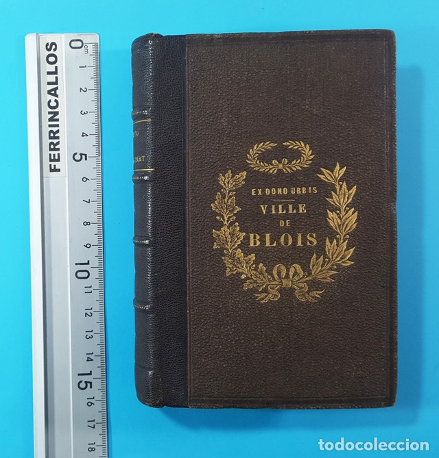 Libros antiguos: MEMENTO DE BACCALAUREAT ES LETTRES RESUME DES CONNAISSANCES, HACHETTE PARIS 1868, BLOIS BACHILLERATO - Foto 2 - 176257538