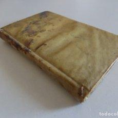 Libros antiguos: LIBRERIA GHOTICA. P. OVIDII NASONIS TRISTIUM LIBRI V. ARGUMENTIS ET NOTIS HISPANICIS.1800 PERGAMINO. Lote 176518918