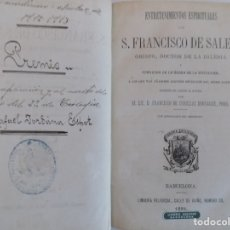 Libros antiguos: LIBRERIA GHOTICA. LIBRO PREMIO POR APLICACIÓN AL MÉRITO ESCOLAR.1912-1913.FRANCISCO DE SALES 1881. Lote 176976158