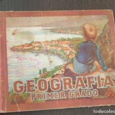 Libros antiguos: GEOGRAFIA PRIMER GRADO. EDITORIAL LUIS VIVES. AÑO 1954. Lote 177176588