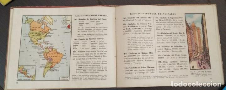 Libros antiguos: GEOGRAFIA PRIMER GRADO. EDITORIAL LUIS VIVES. AÑO 1954 - Foto 2 - 177176588