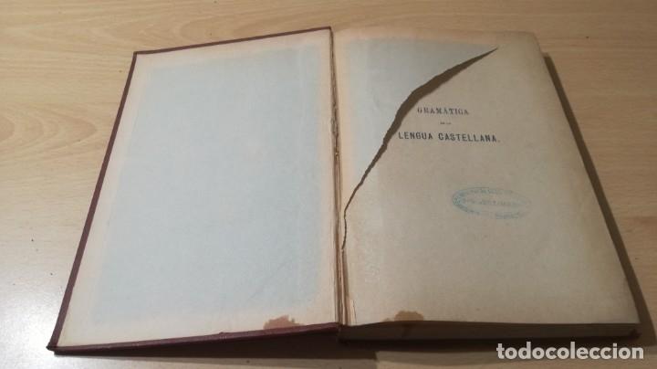 Libros antiguos: GRAMATICA LENGUA CASTELLANA - 1883 REAL ACADEMIA ESPAÑOLA - GREGORIO HERNANDO MADRID - Foto 3 - 177843732