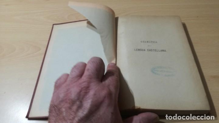 Libros antiguos: GRAMATICA LENGUA CASTELLANA - 1883 REAL ACADEMIA ESPAÑOLA - GREGORIO HERNANDO MADRID - Foto 4 - 177843732