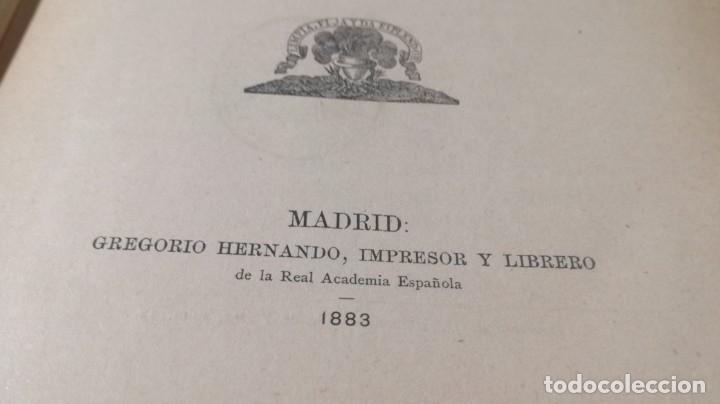Libros antiguos: GRAMATICA LENGUA CASTELLANA - 1883 REAL ACADEMIA ESPAÑOLA - GREGORIO HERNANDO MADRID - Foto 7 - 177843732