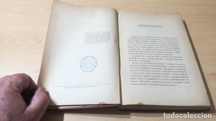 Libros antiguos: GRAMATICA LENGUA CASTELLANA - 1883 REAL ACADEMIA ESPAÑOLA - GREGORIO HERNANDO MADRID - Foto 8 - 177843732