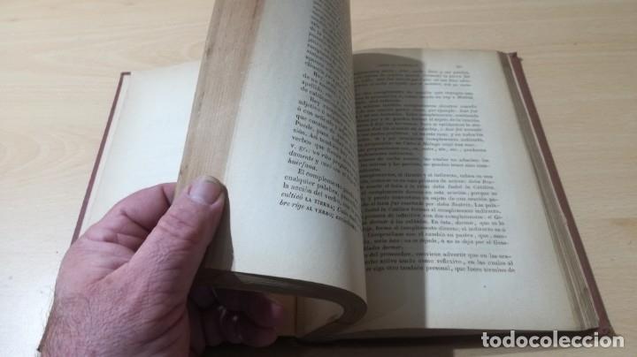 Libros antiguos: GRAMATICA LENGUA CASTELLANA - 1883 REAL ACADEMIA ESPAÑOLA - GREGORIO HERNANDO MADRID - Foto 12 - 177843732
