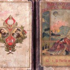 Libros antiguos: CASTOR AGUILERA Y PORTA : EL PEZ DE MADERA (SUC. DE HERNANDO, 1907). Lote 177891049