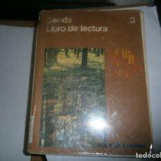 Libros antiguos: SENDA LIBRO LECTURA¡ N 3 SANTILLANA¡. Lote 178312862
