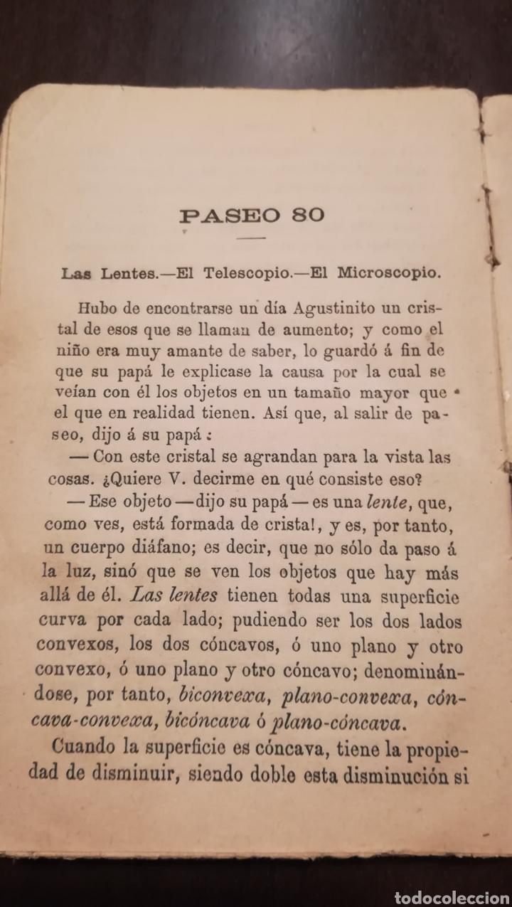 Libros antiguos: Paseos Instructivos. 1902. - Foto 7 - 178900520