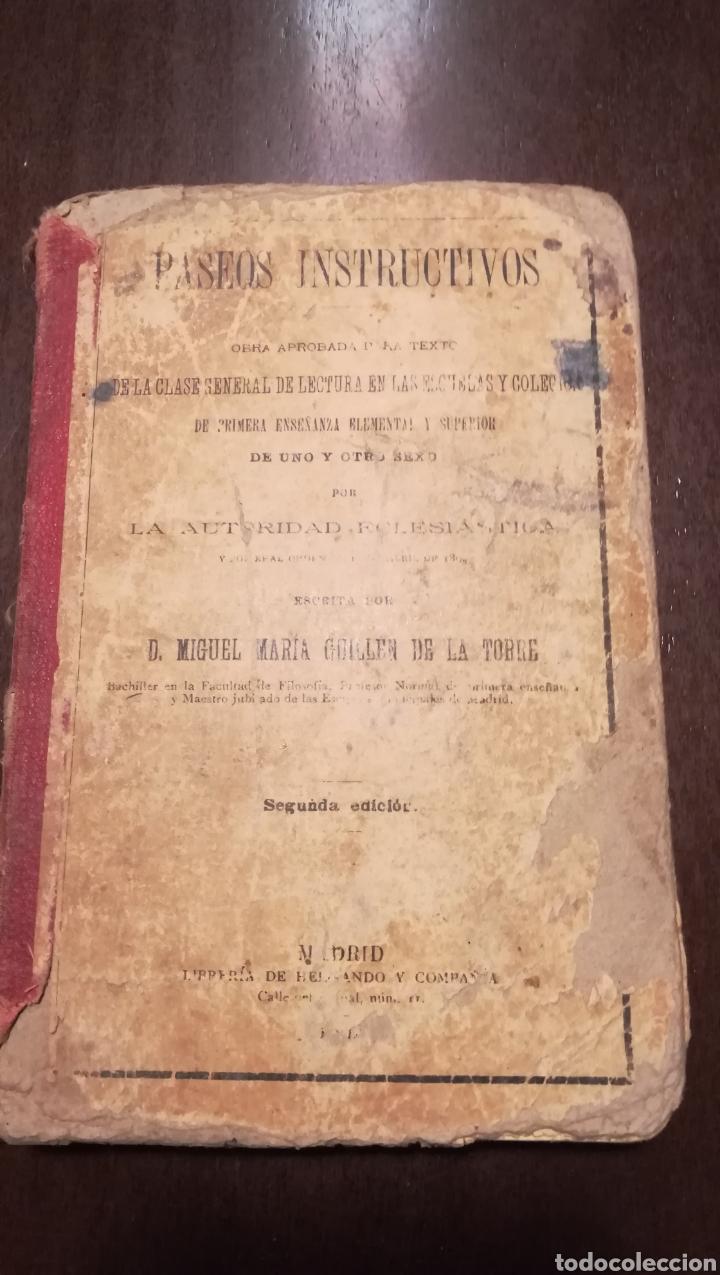 PASEOS INSTRUCTIVOS. 1902. (Libros Antiguos, Raros y Curiosos - Libros de Texto y Escuela)