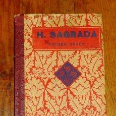 Libros antiguos: F.T.D. HISTORIA SAGRADA. PRIMER GRADO. Lote 178936595