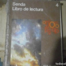 Libros antiguos: LIBRO SENDA¡¡'SANTILLANA,,VOL 4¡. Lote 179114636