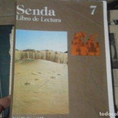 Libros antiguos: SENDA 7 SANTILLANA¡¡ ¡NO SEACMITE DE VOLUCIONES,CUAL QUIER COSA PREGUNTAR. Lote 179115008