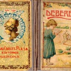 Libri antichi: DALMAU CARLES : DEBERES (DALMAU CARLES PLA, 1923). Lote 179257090