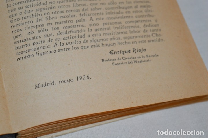Libros antiguos: Las Ciencias en la Escuela / ¡Raro!, años 30 - ORIGINAL, Aurelio R Charentón, profesor normal ¡Mira! - Foto 7 - 180100250
