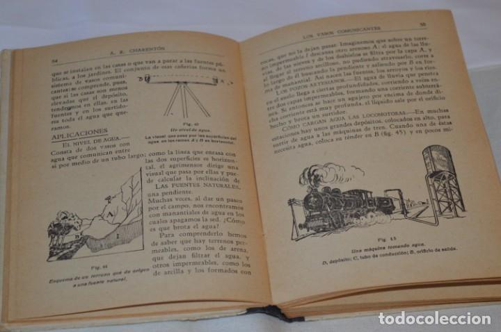 Libros antiguos: Las Ciencias en la Escuela / ¡Raro!, años 30 - ORIGINAL, Aurelio R Charentón, profesor normal ¡Mira! - Foto 10 - 180100250
