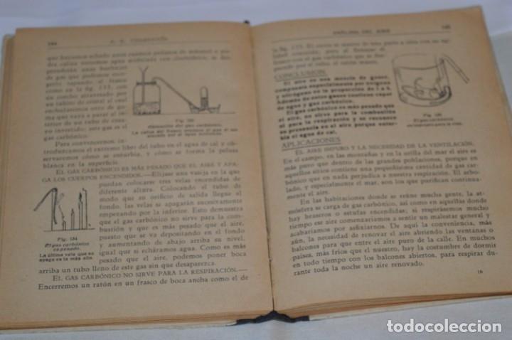 Libros antiguos: Las Ciencias en la Escuela / ¡Raro!, años 30 - ORIGINAL, Aurelio R Charentón, profesor normal ¡Mira! - Foto 12 - 180100250
