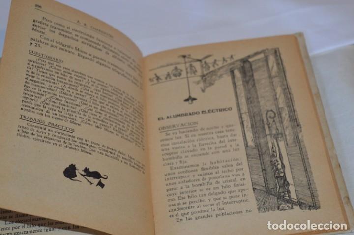 Libros antiguos: Las Ciencias en la Escuela / ¡Raro!, años 30 - ORIGINAL, Aurelio R Charentón, profesor normal ¡Mira! - Foto 13 - 180100250