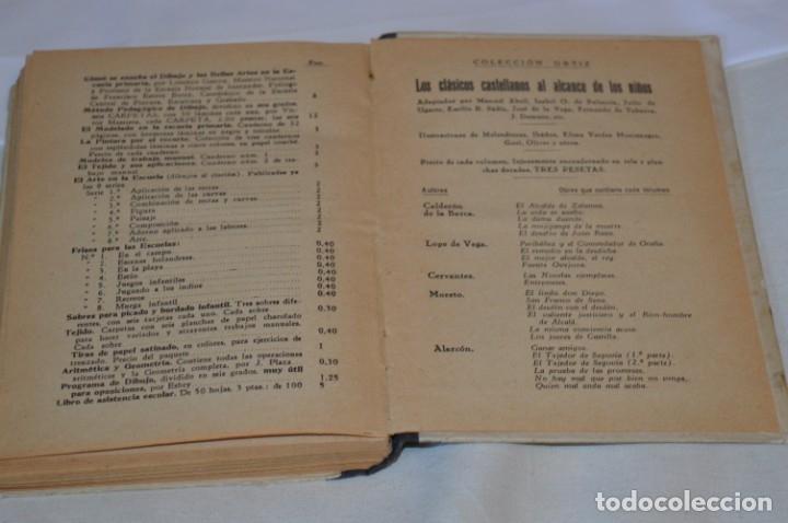 Libros antiguos: Las Ciencias en la Escuela / ¡Raro!, años 30 - ORIGINAL, Aurelio R Charentón, profesor normal ¡Mira! - Foto 14 - 180100250