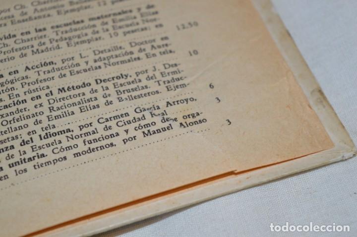 Libros antiguos: Las Ciencias en la Escuela / ¡Raro!, años 30 - ORIGINAL, Aurelio R Charentón, profesor normal ¡Mira! - Foto 15 - 180100250
