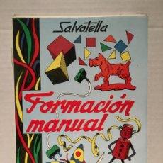 Livros antigos: ANTIGUO CUADERNO DE ACTIVIDADES MANUALES DE SALVATELLA AÑO 1970. Lote 180518718