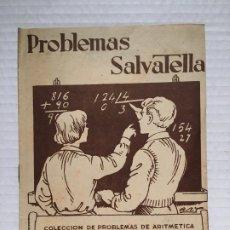 Libros antiguos: ANTIGUO CUADERNO DE EJERCICIOS DE RESTAR SALVATELLA AÑO 1959. Lote 180869502