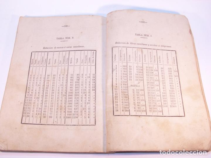 Libros antiguos: Aritmética y sistema métrico decimal práctico. Dedicados al benemérito cuerpo de la guardia civil. - Foto 5 - 181037157