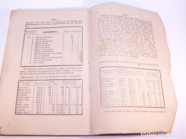Libros antiguos: Aritmética y sistema métrico decimal práctico. Dedicados al benemérito cuerpo de la guardia civil. - Foto 7 - 181037157