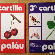 Libros antiguos: LOTE CUADERNOS SEGUNDA CARTILLA + TERCERA CARTILLA PALAU. ANAYA. NUEVOS.. Lote 220886447