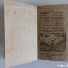 Libros antiguos: LIBRERIA GHOTICA. RARÍSIMO LIBRO DE ESCUELA DEL SIGLO XVIII.1797.OBRA CON MULTITUD DE GRABADOS.. Lote 182753232