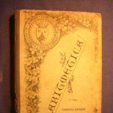 Libros antiguos: H.C.: - ARITMETICA TEORICO-PRACTICA (PARTE 1) (HERMANAS CARMELITAS DE LA CARIDAD) (VIC, 1906) . Lote 182755818