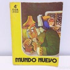 Libros antiguos: LIBRO DE TEXTO DE LECTURA MUNDO NUEVO ANAYA 4º E.G.B. EGB 1981. Lote 182863438