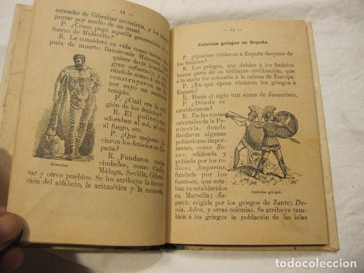 Libros antiguos: NOCIONES DE HISTORIA DE ESPAÑA CALLEJA, SATURNINO. MADRID 1898 - Foto 3 - 183460701
