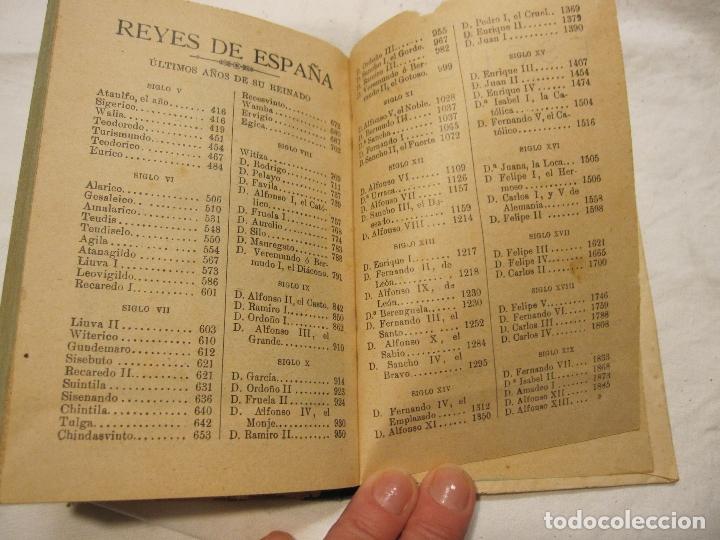 Libros antiguos: NOCIONES DE HISTORIA DE ESPAÑA CALLEJA, SATURNINO. MADRID 1898 - Foto 6 - 183460701