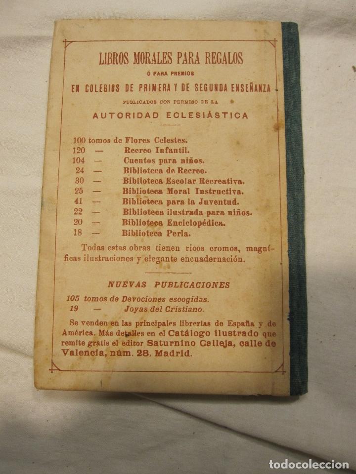 Libros antiguos: NOCIONES DE HISTORIA DE ESPAÑA CALLEJA, SATURNINO. MADRID 1898 - Foto 7 - 183460701
