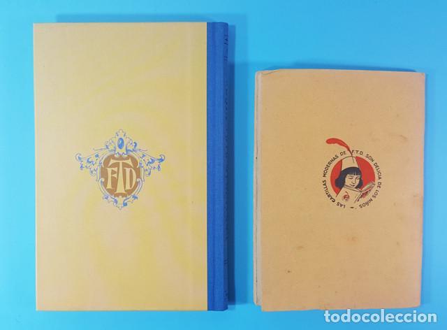 Libros antiguos: CURIOSO LOTE 2 CARTILLAS MODERNA DE URBANIDAD F.T.D. 3ª EDIC 1929, ORIGINAL Y REEDICION 2007 64 PAG - Foto 5 - 183546645