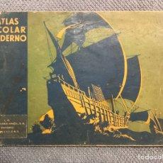 Libros antiguos: ATLAS. ESCOLAR Y MODERNO. EDITA: SEIX Y BARRAL. BARCELONA. MAPAS FÍSICOS Y POLÍTICOS (H.1930?). Lote 183954247