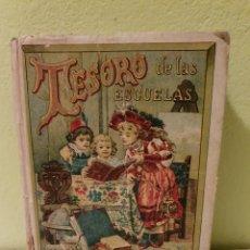 Libros antiguos: LIBRO ANTIGUO TESORO DE LAS ESCUELAS PARRAVICINI. Lote 184396735